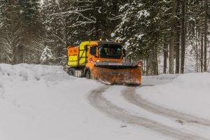 Vinterbekæmpelse af vej